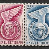 Togo.1962 Cosmonautica ST.629 - Timbre straine, Nestampilat