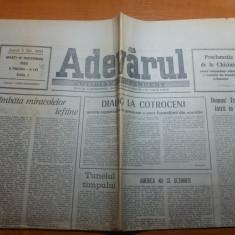 ziarul adevarul 18 decembrie 1990