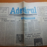 Ziarul adevarul 13 decembrie 1990-art. despre victimele revoutiei