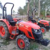 Tractor nou, 4x4, viticol, lat de 1,44m ;50CP cu cadru ROPS, Kioti LX500L