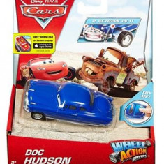 Masinuta Disney Cars Wheel Action Drivers Doc Hudson - Masinuta electrica copii Mattel