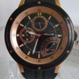 Ceas Accurist Cronograph curea silicon - Ceas barbatesc, Quartz