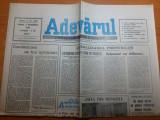 ziarul adevarul 2 noiembrie 1990-liberalizarea preturilor