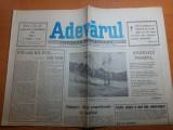 Ziarul adevarul 9 septembrie 1990