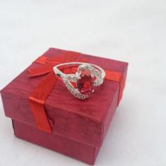 Inel dama Red Bow - Inel argint