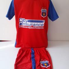 Echipament sportiv fotbal copii FC.Steaua Bucuresti - Echipament fotbal, Marime: Alta