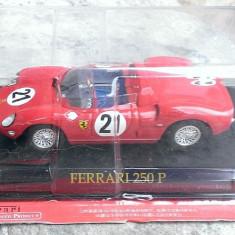 [NOU] Macheta metal Ferrari 250 P- Eaglemoss Colectia Ferrari NOUA - Macheta auto, 1:43