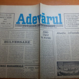 Ziarul adevarul 4 august 1990
