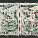 Togo.1962 Cosmonautica-supr. ST.630 - Timbre straine, Nestampilat