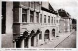 Sibiu, Universitatea Săsească, ilustrată veche, Necirculata, Fotografie