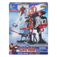 Jucarie Marvel Iron Man Armory Playset - Vehicul Hasbro