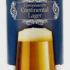 Muntons Connoisseurs Continental Lager - kit pentru bere de casa 23 litri, Blonda