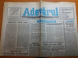 ziarul adevarul 29 noiembrie 1990