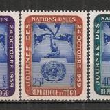 Togo.1959 Ziua ONU ST.624 - Timbre straine, Nestampilat