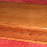 Casetă din lemn pentru ţigări, vintage