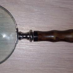 Lupa veche filatelica dimensiuni mari lungime 27 cm