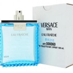 Parfum Tester Versace Eau Fraiche Man - Parfum barbati Versace, Apa de toaleta, 100 ml