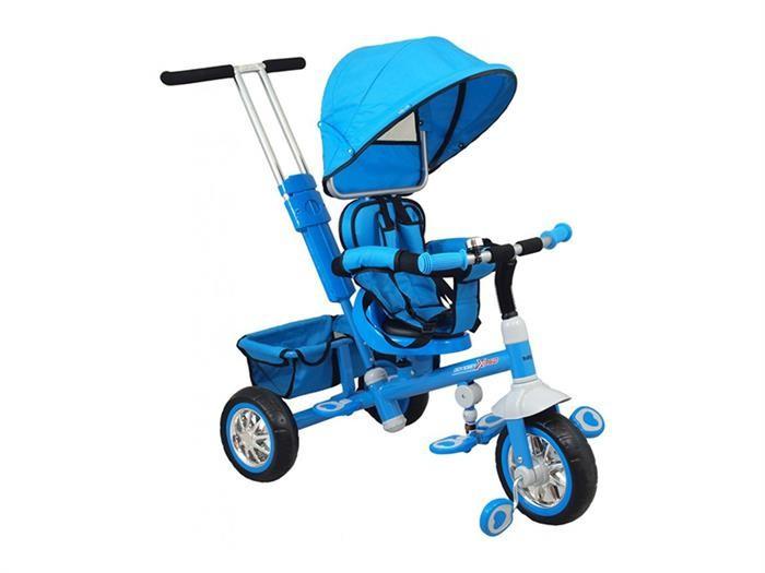 Tricicleta Copii Cu Scaun Reversibil Baby Mix Ur-Etb32 2 Blue foto mare