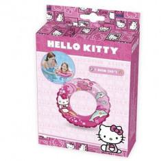 Colac Copii Bazin Intex Hello Kitty Illustrated Swim Ring 51Cm