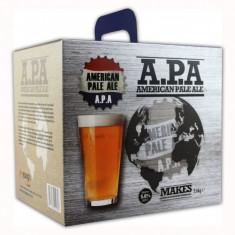 Young's American Pale Ale 3.6 kg - kit pentru bere de casa 23 litri, Blonda