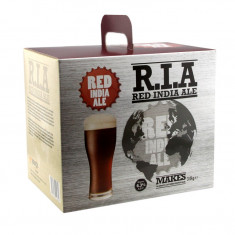 Young's Red India Ale 4 kg - kit pentru bere de casa 23 litri, Bruna