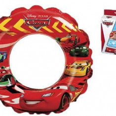 Colac Copii Bazin Intex Disney Cars Swim Ring