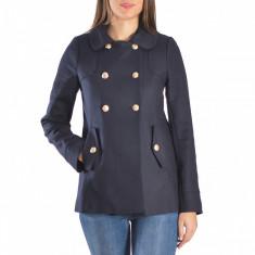 Palton dama Raspberry. Model Ayda Navy, Marime: 38