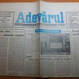 Ziarul adevarul 20 noiembrie 1990- la bucuresti miting impotriva comunismului
