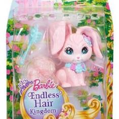 Jucarie Barbie Endless Hair Kingdom Bunny