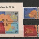 Togo.1961 Comisia economica ONU ST.627 - Timbre straine, Nestampilat
