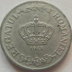 Moneda 5 Lei - ROMANIA, anul 1942 *cod 2861  Zinc xF