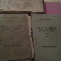 ELEVUL DIMA DINTR'A SAPTEA DE MIHAIL DRUMES+CADOU SCRISOARE DE DRAGOSTE - Carte veche