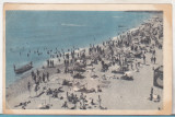 Bnk cp Vasile Roaita - Plaja - circulata 1958, Printata, Eforie