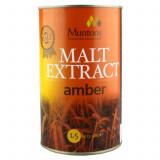 Muntons Extra Amber Plain Malt Extract 1.5 kg - pentru bere de casa, Bruna