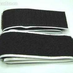 Velcro cu adeziv 1 m (scai, arici) , latime 2 cm