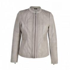 Jacheta din piele. Model Tess - Jacheta dama Raspberry, Marime: 36, 38, 40
