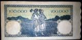 100000 lei 20 Decembrie 1946