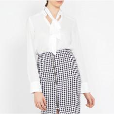 Camasa Dama. Model Tie-Front White