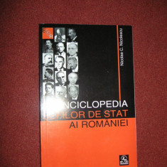 Enciclopedia sefilor de stat ai Romaniei - NICOLAE C. NICOLESCU (1862-2007)