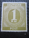 Germania(Ocupatia Aliata) 1946 . 1 reichsmark . nestampilat