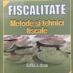 FISCALITATE METODE SI TEHNICI FISCALE - Georgeta Vintila - Carte de vanzari