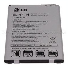 Acumulator LG Bl-47th EAC62298702 Optimus G Pro F350 D837 NOU ORIGINAL, Li-ion
