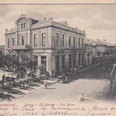 GALATI, BURSA, CLASICA, CIRC. 1903, ED. H. WICHMANN, GALATZ - Carte Postala Moldova pana la 1904, Circulata, Printata