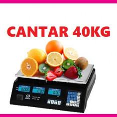 CANTAR ELECTRONIC 40 kg - Cantar comercial