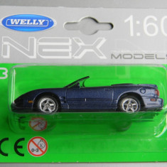 Macheta auto Alta - WELLY DIE CAST - PONTIAC FIREBIRD 2001, 1:60