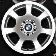 Jante bmw e60 originale 16 inch, 5x120 - Janta aliaj BMW, Latime janta: 7, Numar prezoane: 5