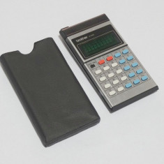 Calculator retro vitange Brother 418E - anii