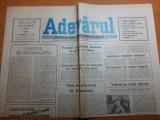 ziarul adevarul 16 august 1990