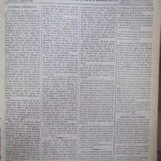 Ziarul Presa, Miercuri 9 Aprilie 1875