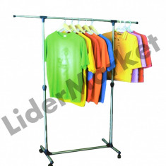 Suport orizontal pentru haine - umerase - Raft/Etajera